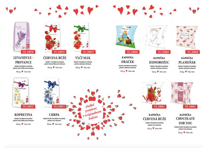 Zamilovaná nabídka 2019 nejen pro Valentýny